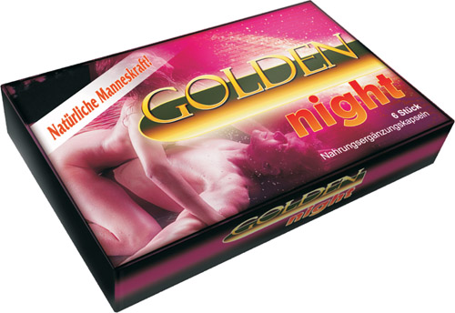 Golden Night capsula 3 pz.