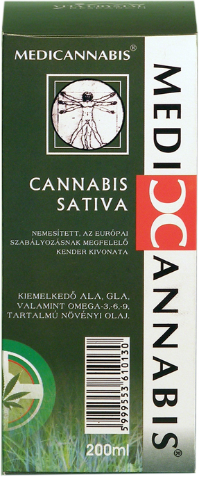 Medicannabis oil 200 ml