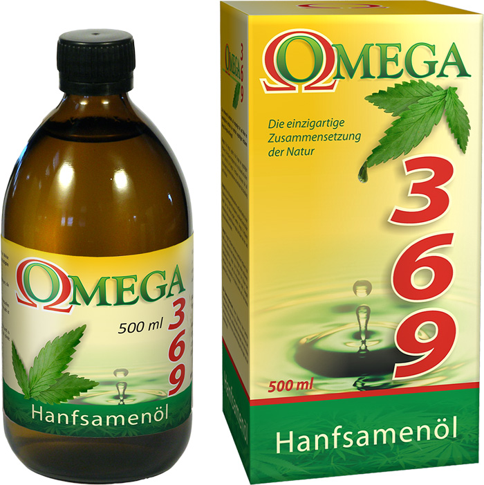 Olio di semi di Canapa 500ml