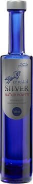 Crystal Silver Natur Power pr. (100ml)  - 1890 Ft