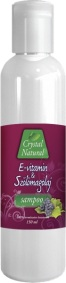 Crystal Natural E-vitamin+Sz�l�magolaj sampon (150ml)