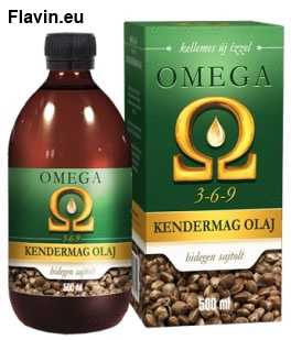 Omega kendermag olaj (500ml)  - 4950 Ft