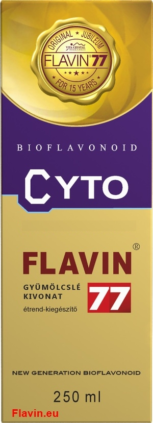 Flavin77 Cyto szirup (250ml)  - 11900 Ft