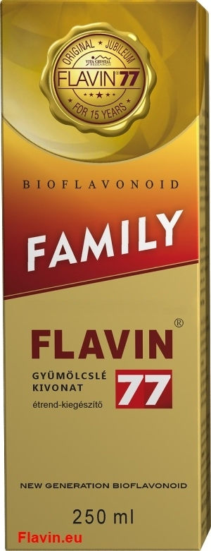 Flavin77 Family szirup (250ml)  - 9900 Ft