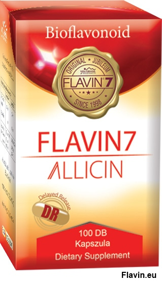 Flavin7 Allicin DR kapszula (100db)  - 16900 Ft
