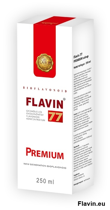 Flavin77 Prémium szirup (250ml)  - 45000 Ft