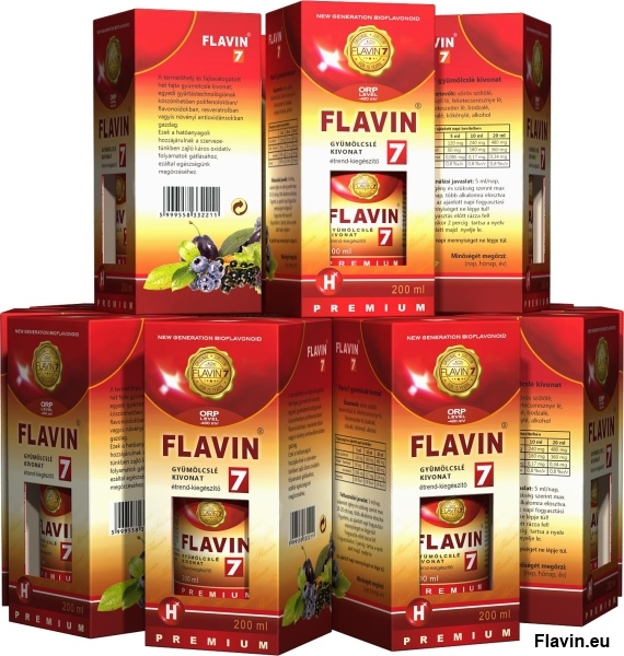 Flavin7 Prémium Specialized ital (8x200ml)  - 32000 Ft