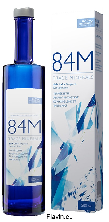 Trace Minerals 84M (500ml)  - 9900 Ft