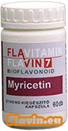 Flavitamin Myricetin (60db)  - 2590 Ft