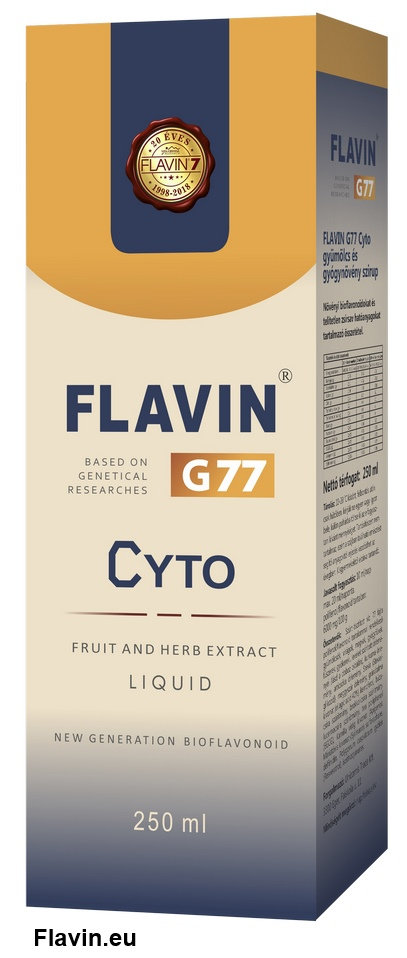 Flavin G77 Cyto szirup (250ml)  - 15700 Ft