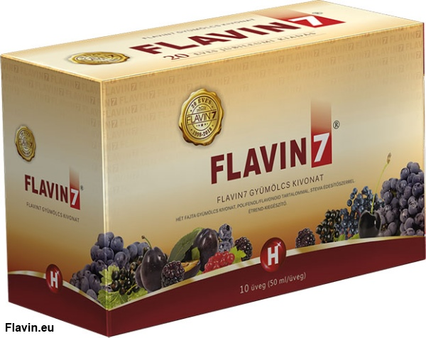 Flavin7 ital (10x50ml)  - 13000 Ft