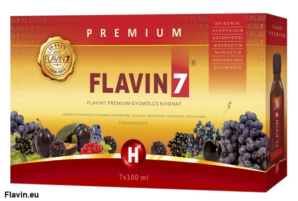 Flavin7 Prémium ital (7x100ml)  - 12700 Ft