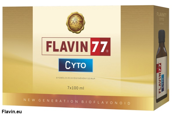 Flavin77 Cyto szirup (7x100ml)  - 33000 Ft
