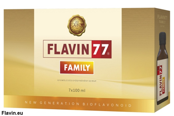 Flavin77 Family szirup (7x100ml)  - 33000