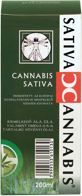 Medicannabis olaj - Cannabis Sativa Cannabionid Oil (200ml)  - 4950 Ft