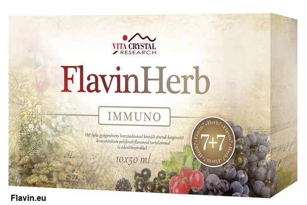 FlavinHerb Immuno ital (10x50ml)  - 15000 Ft
