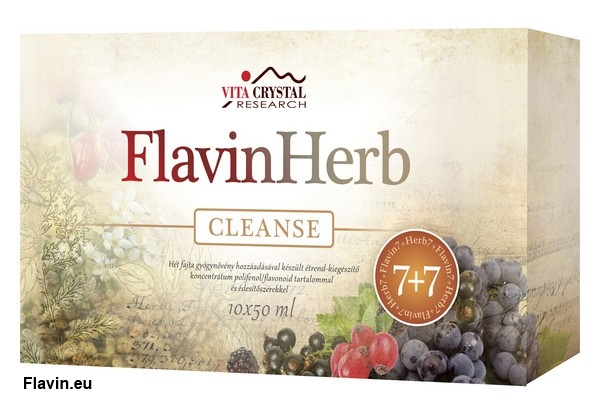 FlavinHerb Cleanse ital (10x50ml)  - 12500 Ft