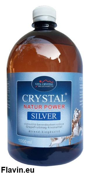 Crystal Silver Natur Power (1000ml)  - 6320 Ft