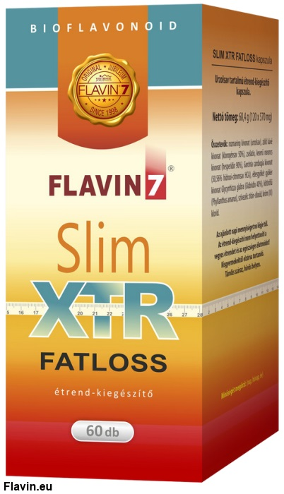 Flavin7 Slim XTR Fat loss kapszula (60db)  - 19500