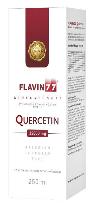 Flavin77 Quercetin szirup (250ml)  - 18900 Ft
