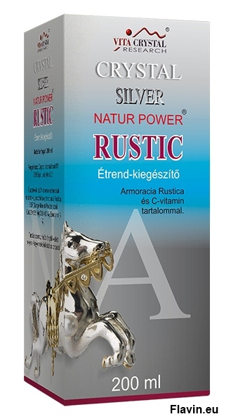 Crystal Silver Natur Power Rustic (200ml)  - 1650 Ft