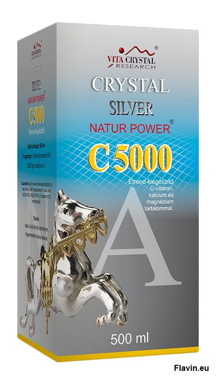 Crystal Silver Natur Power C10000 (500ml)  - 3290 Ft