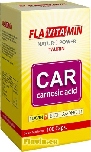Flavitamin Carnosic A (100db)  - 3340 Ft